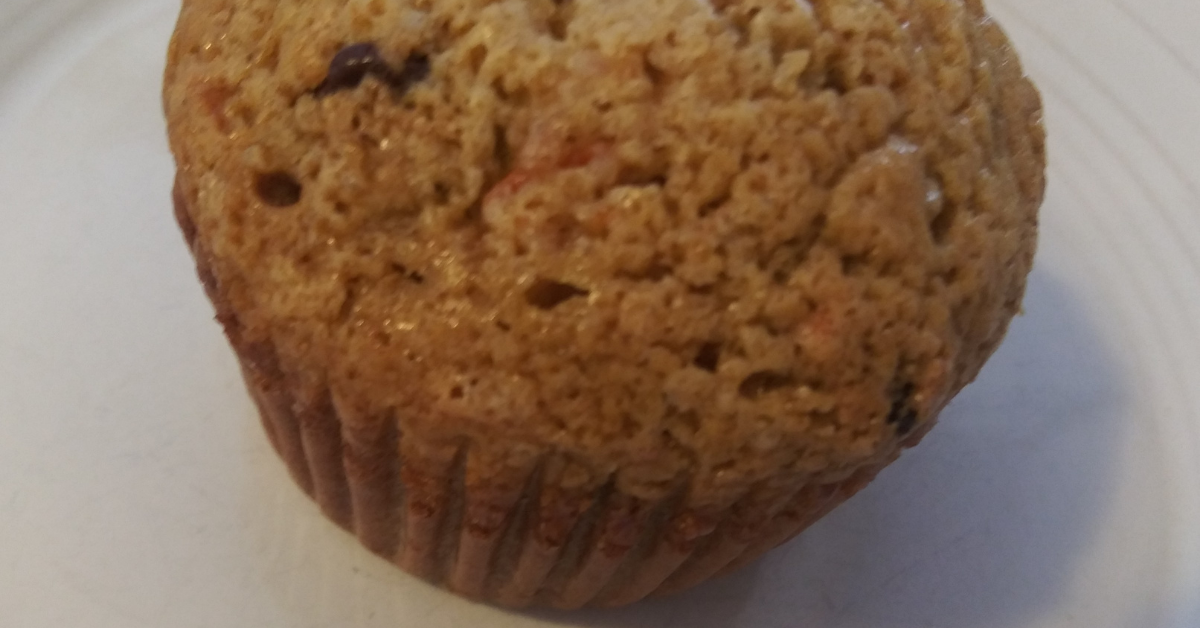 Harvest Carrot Chocolate Chip Muffins
